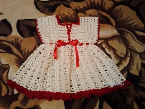 Платье для девочки - работа Татьяны Барышниковой
