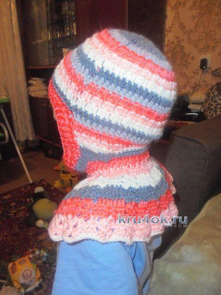 Шапка шлем детская - работа Натальи Трусовой