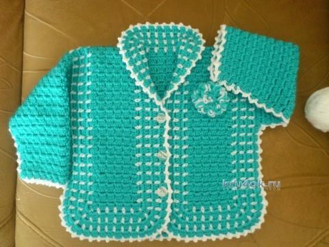 Infantil blusa crochet