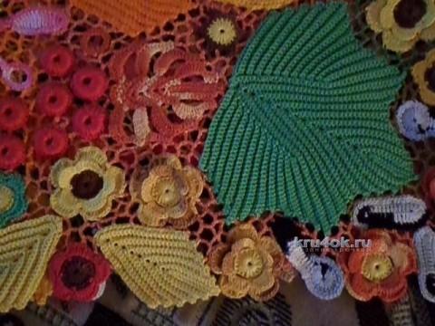 Кофточка Осень - работа Елены Николаевны
