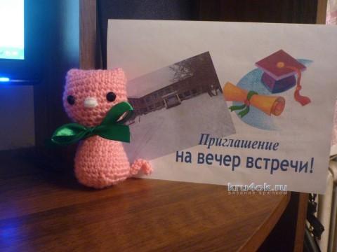 Игрушки амигуруми - работа Валентины