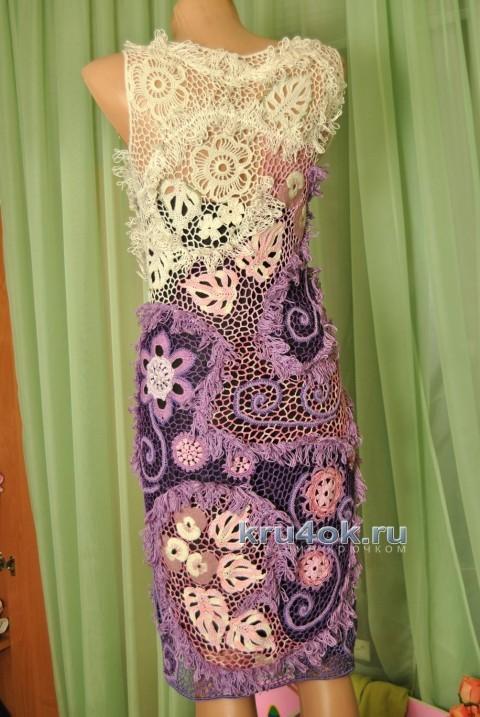 платье крючком