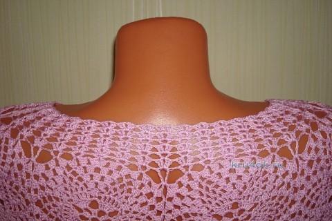 Розовая кофточка - работа Натальи