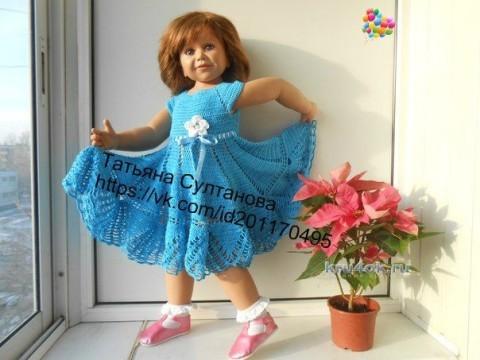 Платье для девочки - работа Татьяны Султановой