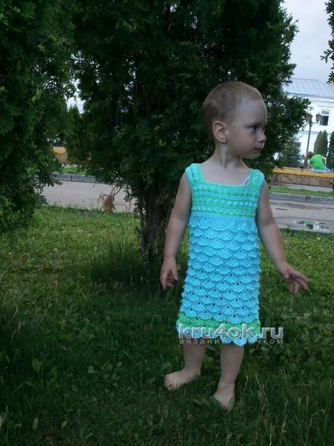 Детское платье - работа Ирины