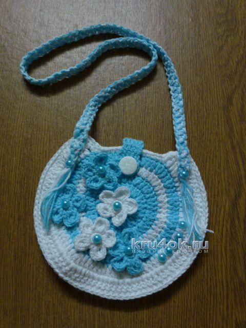 Вязаное крючком платье для девочки - работа Елены