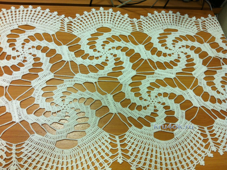 Прямоугольные салфетки крючком со схемами фото 135