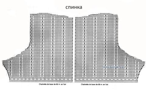 Вязаное крючком платье - работа Ирины Стильник вязание и схемы вязания