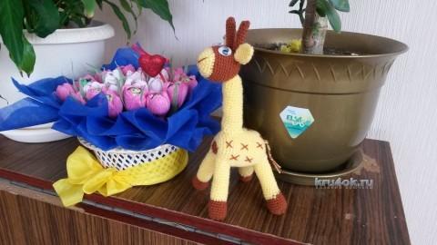 Вязаные игрушки - работы Галины вязание и схемы вязания