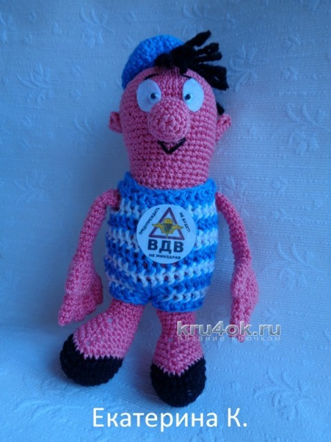 Вязаные крючком игрущки - работы Екатерина вязание и схемы вязания