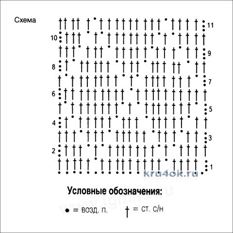 Вязаный крючком джемпер - работа Ольги Арикайнен вязание и схемы вязания