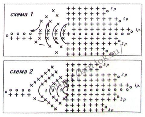 Схемы для вязания жилета: