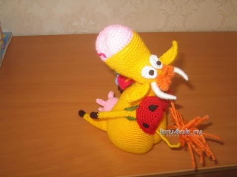 Вязаные игрушки - работы Маргариты