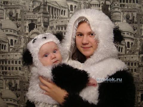 Костюм панда - работа Юлии Добычиной