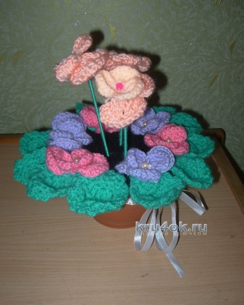Подарок для бабушки - работа Ани