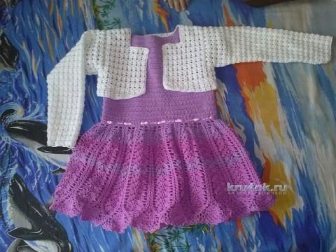 Платье и болеро для девочки - работы Натальи