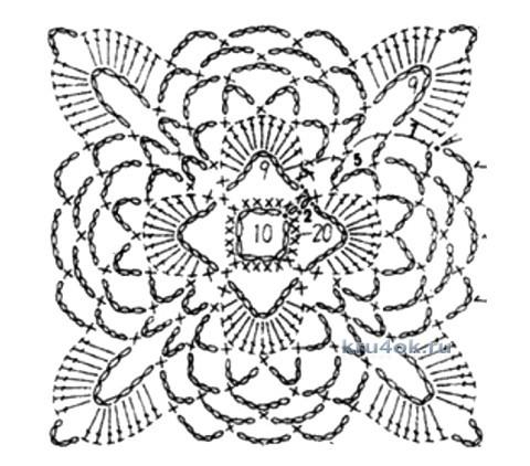 Ажурное пальто - работа Антонины вязание и схемы вязания