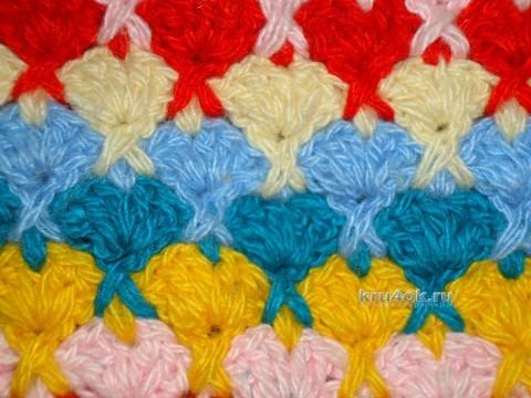 Джемпер для девочки - работа Татьяны вязание и схемы вязания
