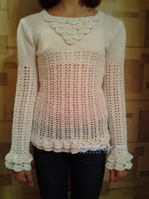 Кофточки для девочки - работы Антонины вязание и схемы вязания