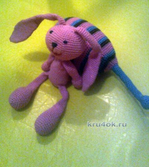 Вязаная игрушка - работа Елены вязание и схемы вязания