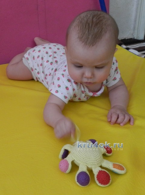 Вязаная крючком игрушка - работа Елены вязание и схемы вязания