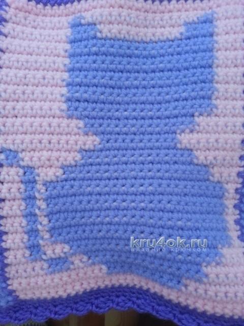 Вязаные крючком пледы - работы Ирины вязание и схемы вязания