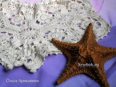 Вязаные крючком шорты - работа Ольги Арикайнен вязание и схемы вязания