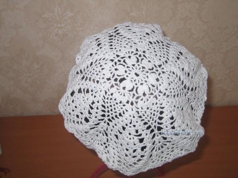 Вязаный крючком берет - работа Маргариты вязание и схемы вязания
