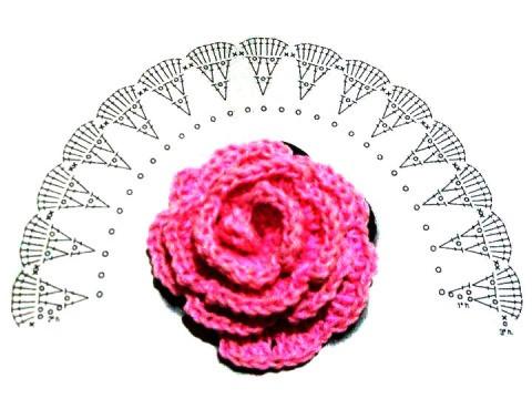 Схема цветка: