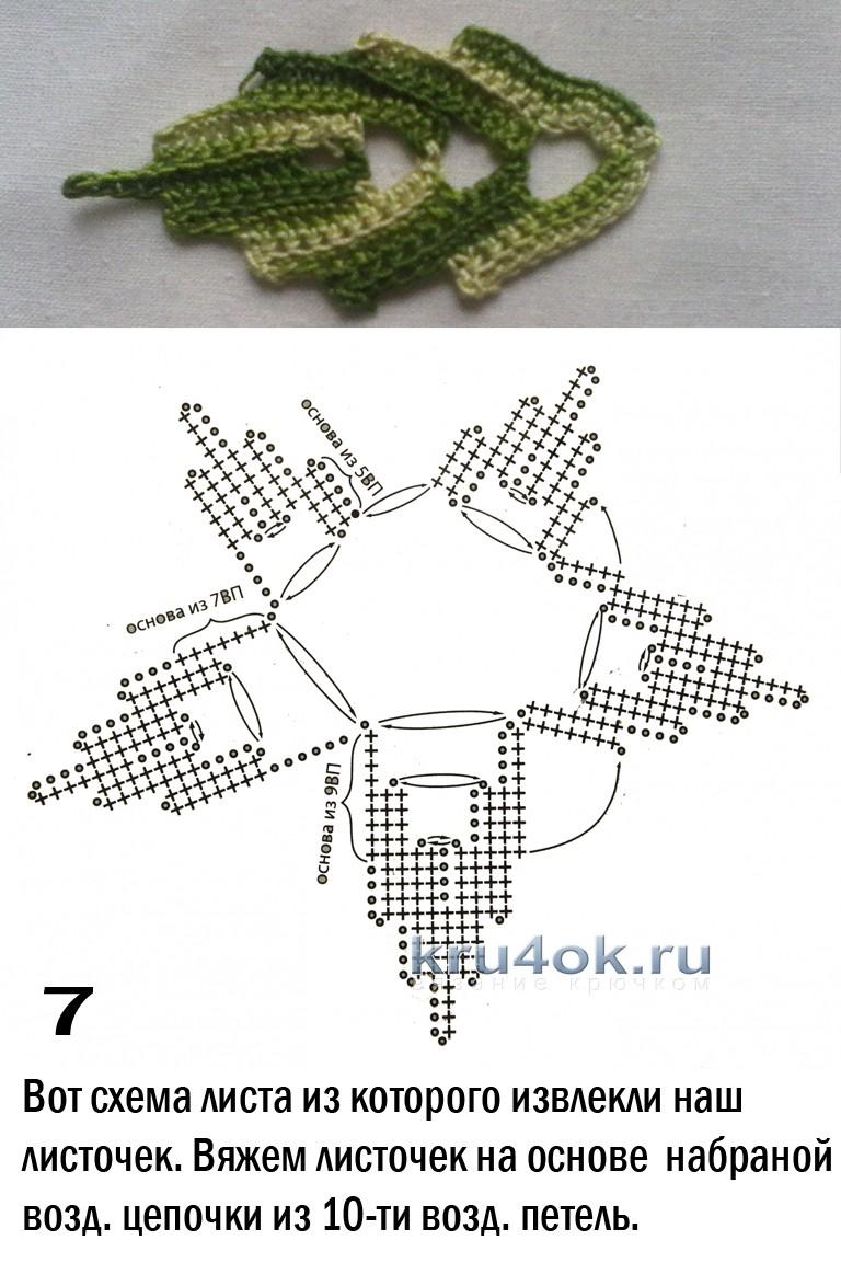 панно вязанные крючком со схемами