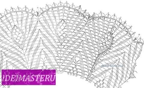 Платьице, берет и пояс для девочки - работы Валентины Литвиновой вязание и схемы вязания