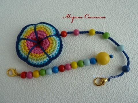 Сумочка для девочки - работа Марины Стоякиной вязание и схемы вязания