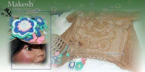 Вязаная крючком туника для девочки вязание и схемы вязания