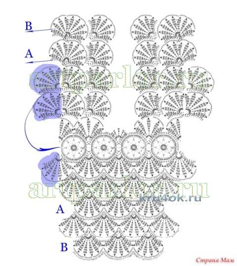 Схемы для вязания болеро: