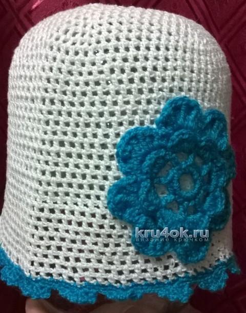 Вязаные крючком шапочки - работы Анжелики Романюк вязание и схемы вязания