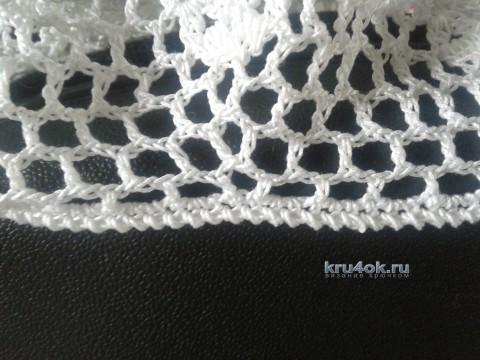 Вязаный крючком берет - работа Арины вязание и схемы вязания