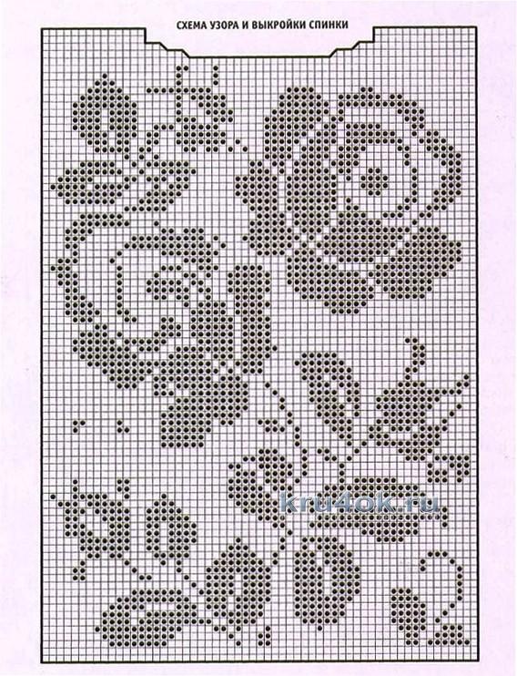 Схемы филейной вязания крючком