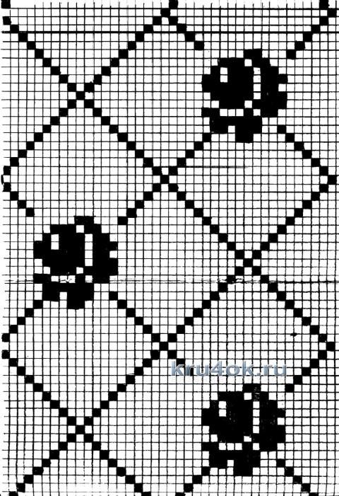 Кофточка крючком - работа Ирины Стильник вязание и схемы вязания