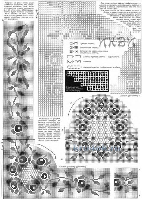 Кофточка крючком - работа Любови вязание и схемы вязания