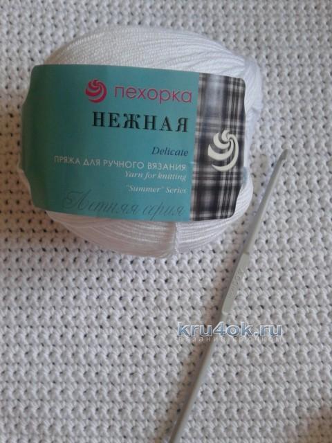 Жакет для девочки - работа Арины вязание и схемы вязания