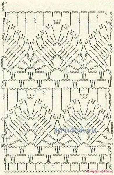 Женское платье крючком - работа Нины вязание и схемы вязания