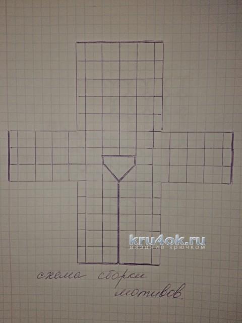 Ажурный кардиган - работа Евгении Руденко вязание и схемы вязания