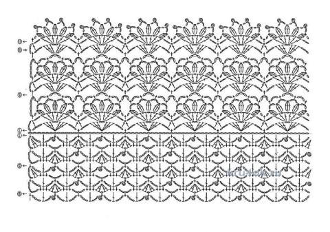 Две кофточки крючком - работы Ирины вязание и схемы вязания