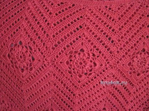 Две кофточки связанные крючком - работы Любови вязание и схемы вязания