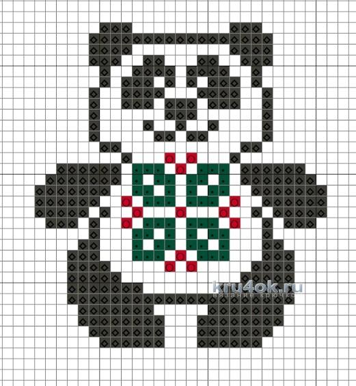 Автором схемы панды является