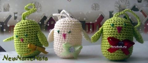 Игрушки из коробочек от киндерсюрпризов вязание и схемы вязания