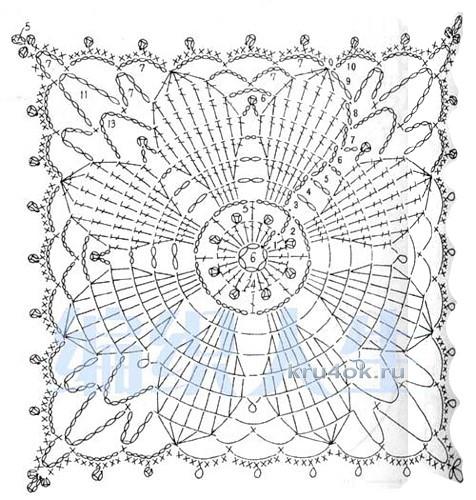 Кофточка крючком - работа Аллы вязание и схемы вязания