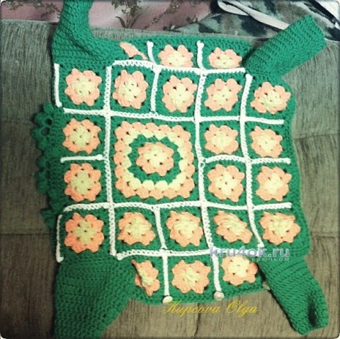 Костюм для собачки - работа Ольги вязание и схемы вязания