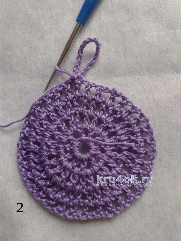 схема вязаной панамы для девочки