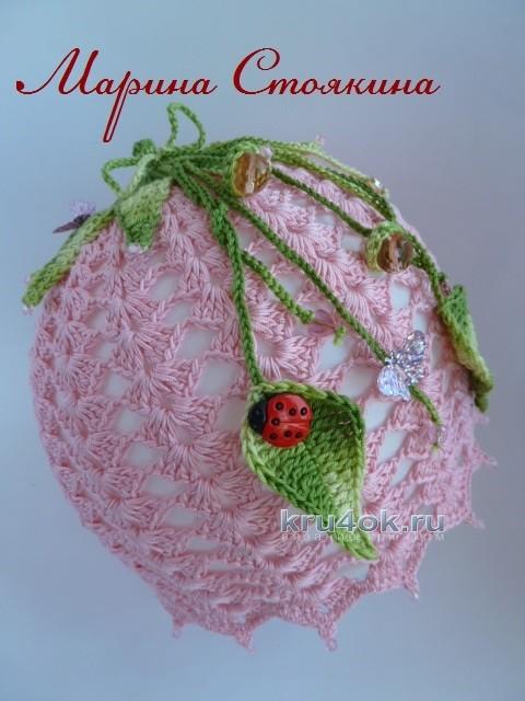 Панама для девочки Колокольчик - работа Марины Стоякиной вязание и схемы вязания